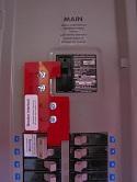 Eaton Cutler Hammer circuit breaker panel CH40KKM200