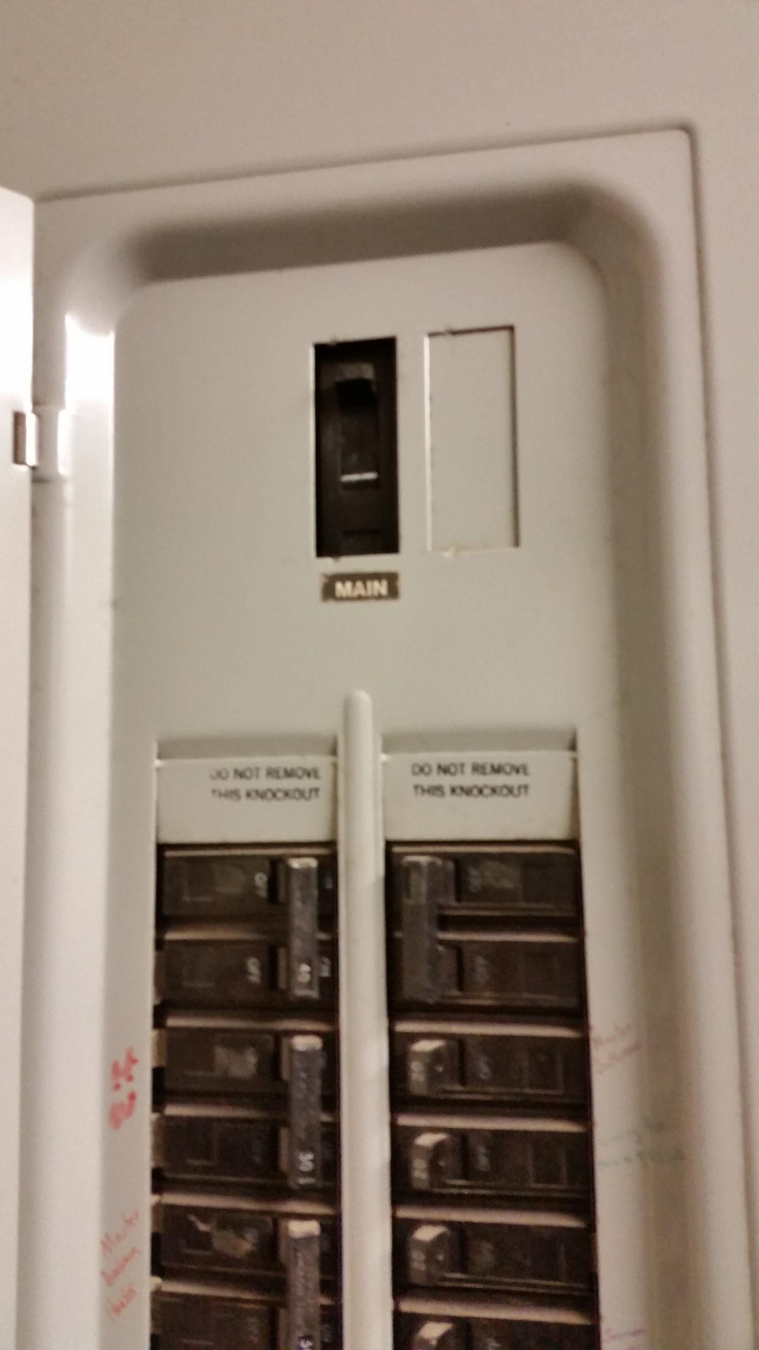 Generator Interlocks Cutler Hammer 100 Amp Main Breaker Panel Ge 3 Long Interlock Kit